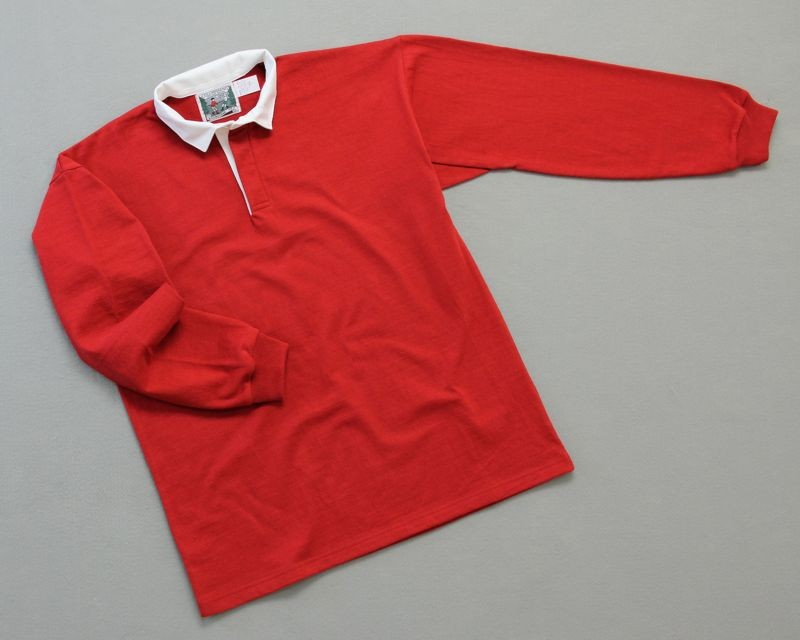 Mns Solid Rugby Red